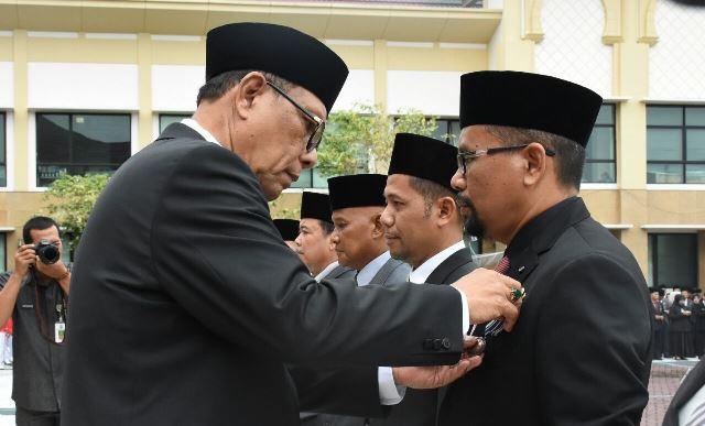 168 ASN Kampar Terima Satyalancana Karya Satya