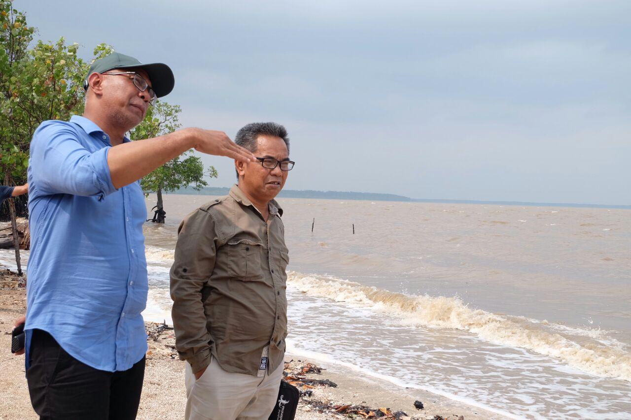 Kunjungi Ekowisata Pantai Solop, Pjs Bupati Inhil Nyatakan Kalau Dikelola dengan Baik Mampu Mengangkat Ekonomi Masyarakat Tempatan