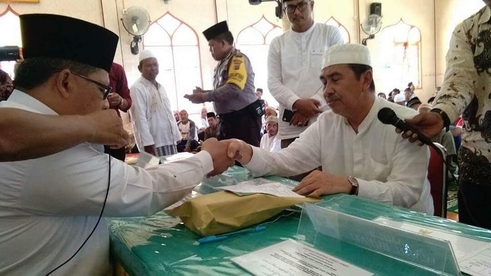 Baru Empat Kecamatan, Gemar Siak Berzakat Sudah Terkumpul Rp 558 Juta