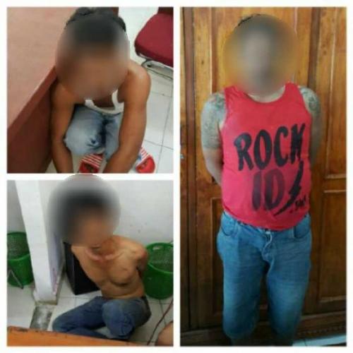 Tiga Kawanan Bandit Spesialis Dugaan Pencurian CPO di Rohil Dibekuk Polisi