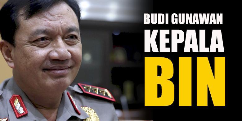 Dilantik Sebagai Kepala BIN, Pangkat Budi Gunawan Jadi Jenderal Bintang Empat