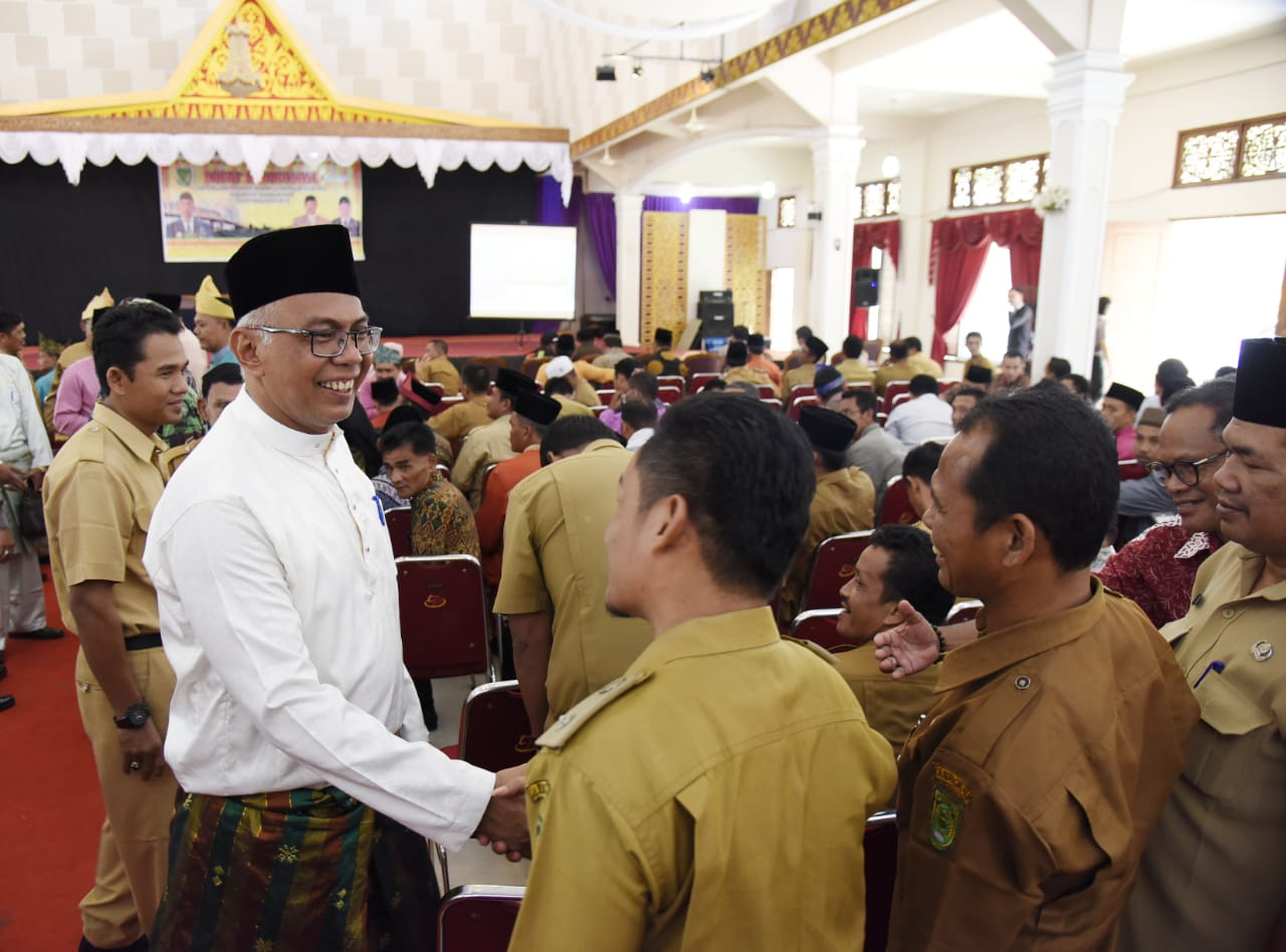 Pjs Bupati Hadiri Rakor DMIJ Tahun Anggaran 2018