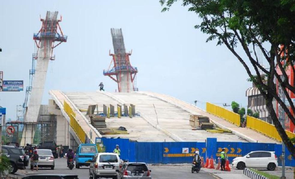 ULP Tetapkan PT Brantas Abipraya Pemenang Tender Jembatan Siak IV