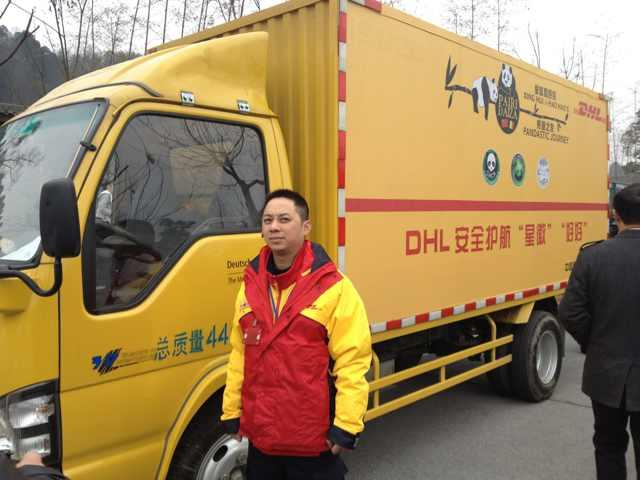 DHL transports panda couple from China to Finland