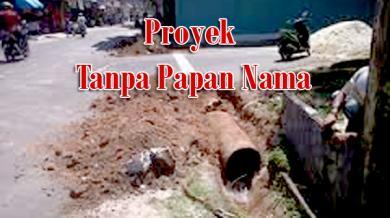 Proyek Tanpa Plang Nama Menjamur di Pekanbaru