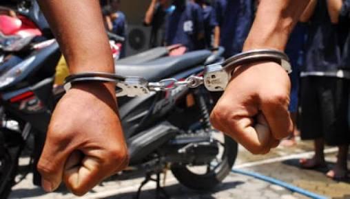 Curi Sepeda Motor, Dua Pelaku Dibekuk Polisi