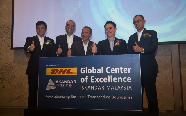 DHL to build Global Center of Excellence in Iskandar Malaysia