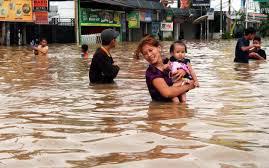 Ribuan Kepala Keluarga Terdampak Banjir di 4 Kabupaten di Riau, 13 Kecamatan Terisolir Akibat Jalan Putus