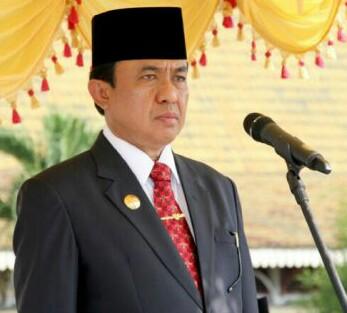 Pembangunan Ruas Jalan Tembilahan - Kuala Saka, Bupati Wardan: Akses Transportasi Menuju Kedua Wilayah Akan Lebih Mudah