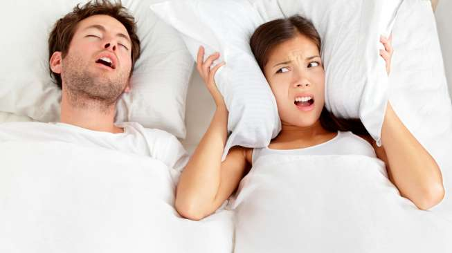 Cara Alami Hilangkan Kebiasaan Tidur Mendengkur