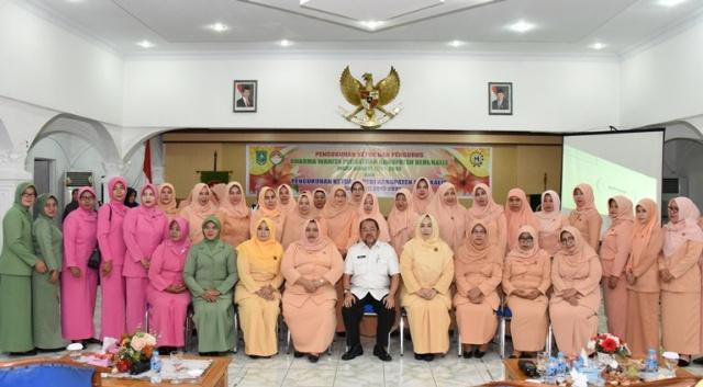 Akna Juwita Nahkodai DWP dan GOP-TKI Bengkalis
