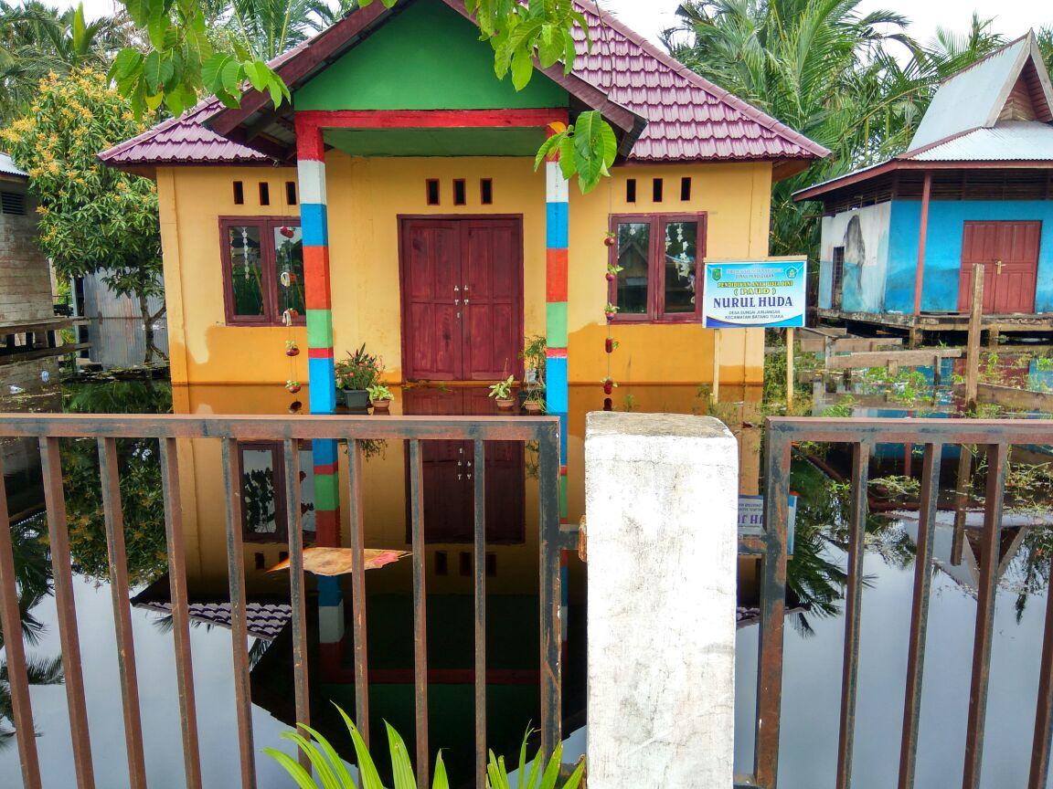 Tiga Desa Kecamatan Batang Tuaka Alami Banjir, Bupati Inhil Instruksikan BPBD Dirikan Posko Pengungsian