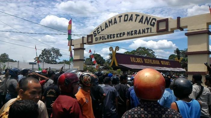 Kerusuhan Berujung Maut, Polda Riau Amankan 15 Anggota Polres Meranti