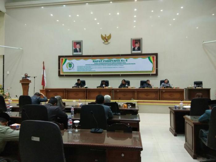 H Mariyanto Pimpin Paripurna Pengesahan Perubahan RPJMD Tahun 2013-2018