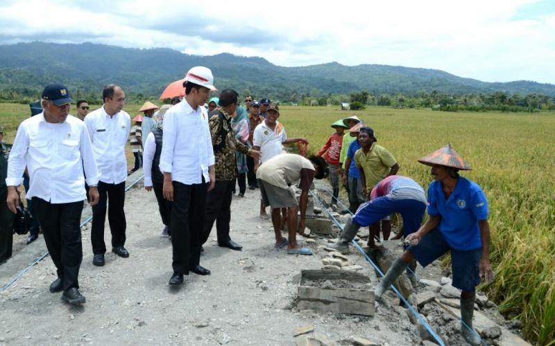 Jokowi Berharap Padat Karya Tunai Naikkan Daya Beli Masyarakat