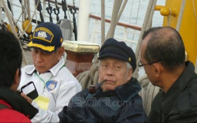 Kapal Legendaris KRI Dewaruci Pecahkan Rekor Dunia