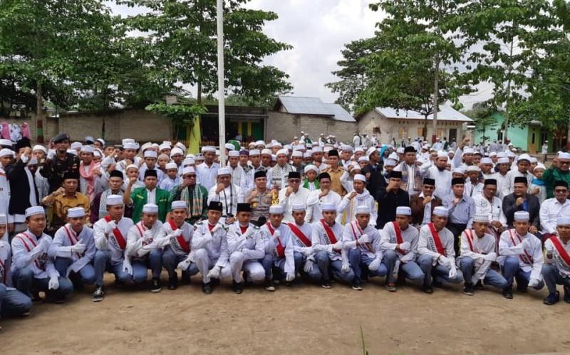 Wabup Rohil Pimpin Apel Akbar HSN di Pondok Pesantren Bidayatul Hidayah