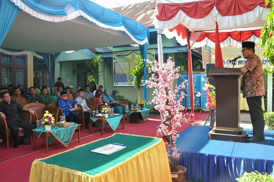 Walikota Dumai Resmikan 25 Unit Rumah Sederhana Layak Huni