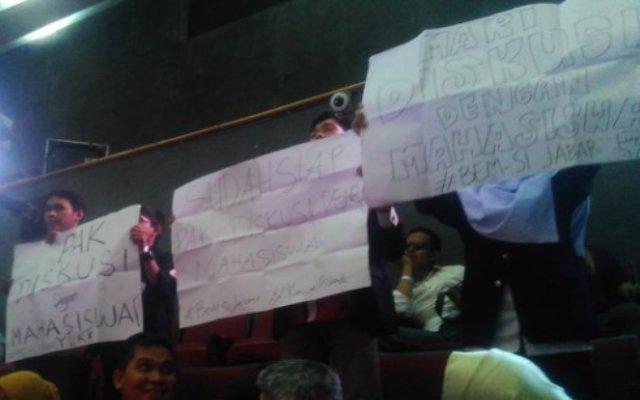BEM Seluruh Indonesia Tantang Cagub Diskusi