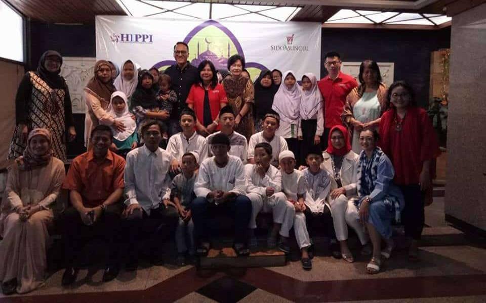 DPP HIPPI Santuni 1000 Anak Yatim dan Dhuafa se Jakarta