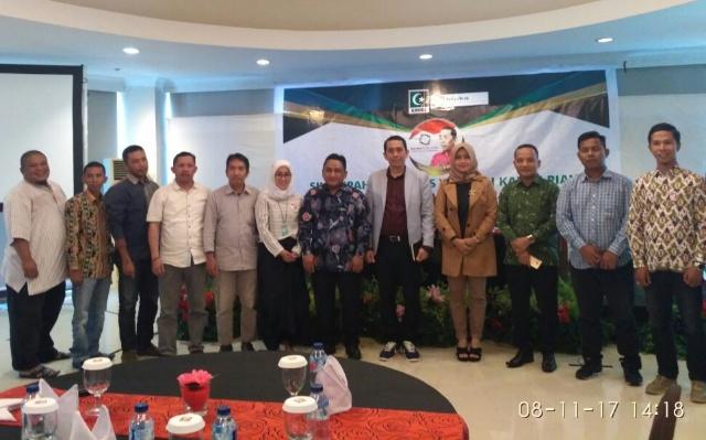 Kamrussamad Gelar Silaturahmi dan Dialog dengan KAHMI se-Riau