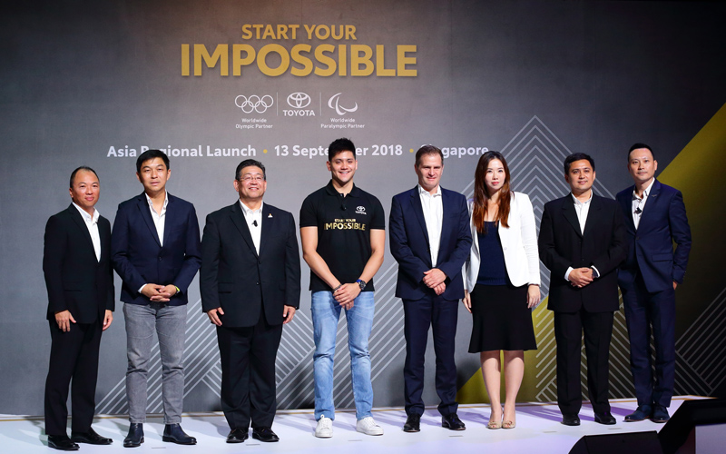 Toyota Announces Asia Roll Out of its First Global Corporate Initiative 'Start Your Impossible' in Singapore