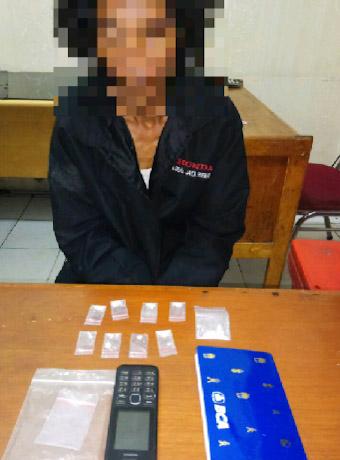 Kantongi 9 Paket Sabu, Buruh Bangunan di Pekanbaru Ditangkap Polisi