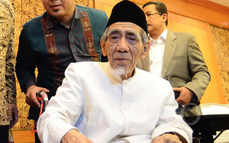 Penghina Mendiang Maimoen Zubair Ditahan