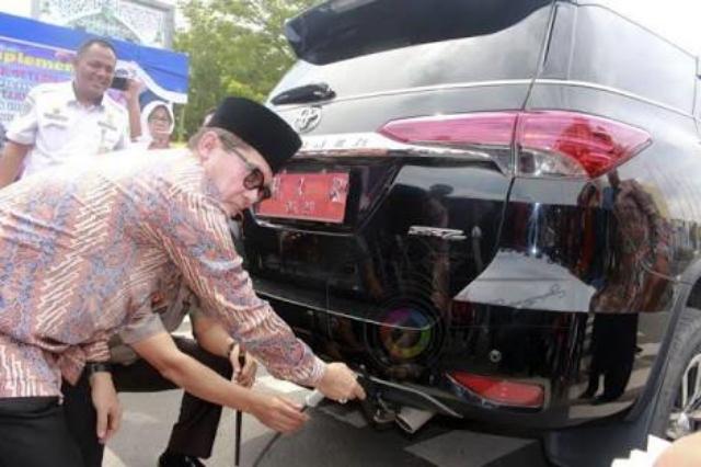Dishub Dumai Gelar Uji Emisi Gas Kendaraan Selama 10 Hari Kedepan