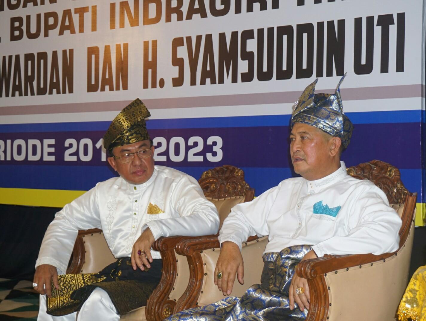 Pilkada Serentak 2018, Wardan - SU Resmi Berpasangan Sebagai Calon Bupati Dan Wakil Bupati Inhil