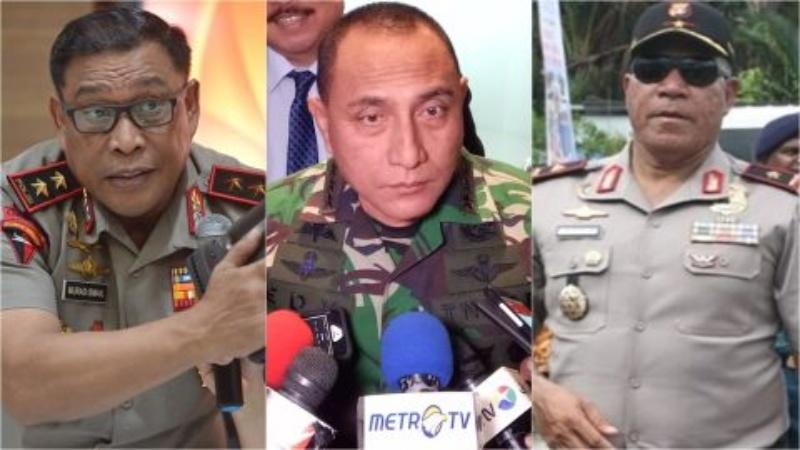 Manuver Tiga Jenderal di Pilkada 2018