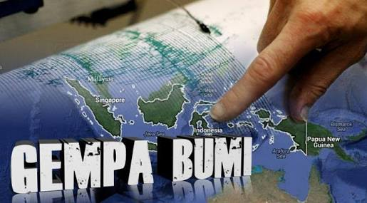 BMKG Sebut Gempa Bumi 9 Kali Dalam Sebulan Masih Wajar