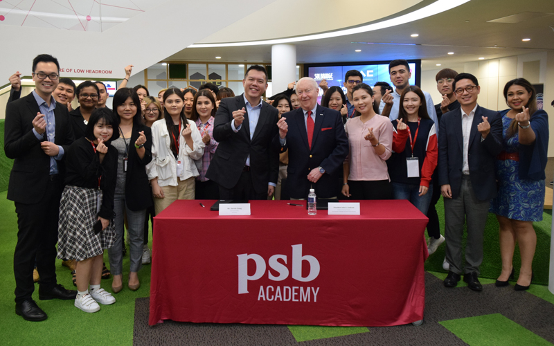 Woosong University, Korea Partners with PSB Academy to Nurture Asian Thought Leaders with Pathways for Transnational Degrees and Careers