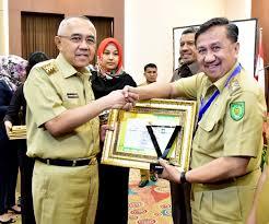 Pemkab Inhil Terima Anugerah Pangripta Nusantara 2017