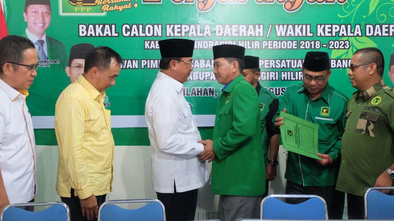 PPP Beri Sinyal Dukung Bacabup Petahana, H Muhammad Wardan Dalam Ajang Pilkada 2018