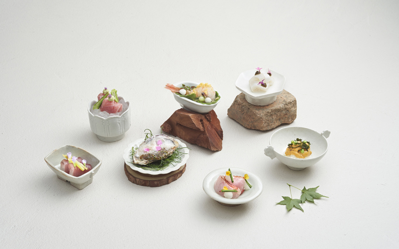 A 'One-Degree' Approach to Kappo Cuisine