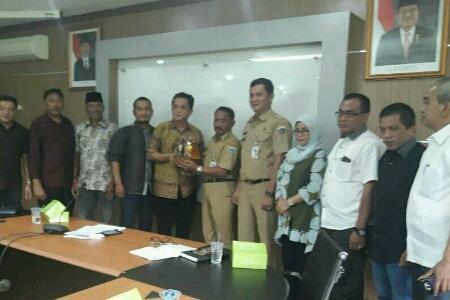Komisi II DPRD Inhil Lakukan Kunjungan Kerja Ke DKPP DKI Jakarta
