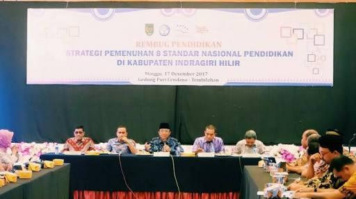 Bupati Inhil Minta Disdik Persiapkan Database Kebutuhan Operasional Sekolah
