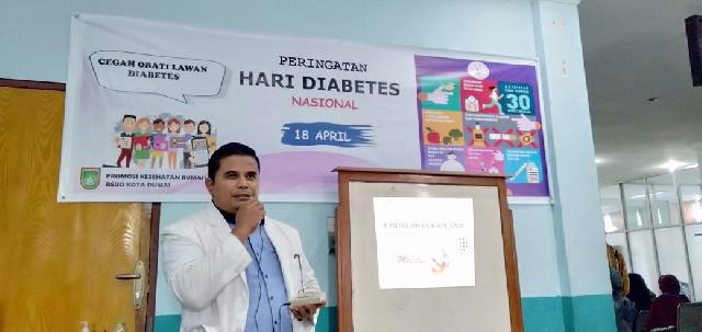RSUD Dumai Gelar Edukasi Diabetes dan Cek Gula Darah Gratis