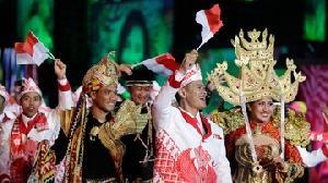 Desain Siger Indonesia di Panggung Olimpiade